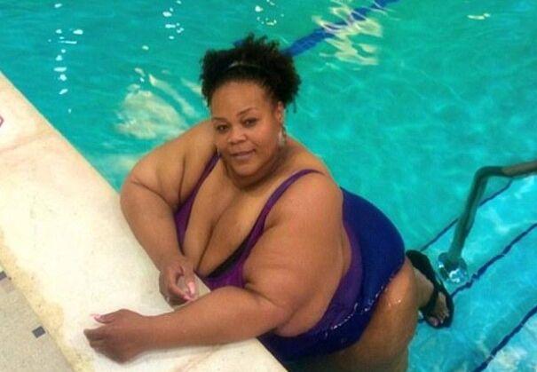 40岁最胖女人健身减掉500斤 渴望找寻爱情(组图)