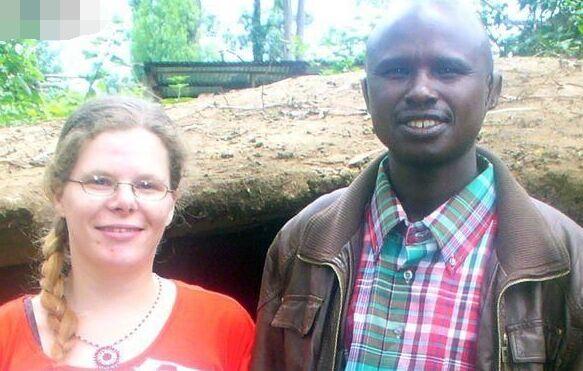 26岁英国女子去非洲当二奶,却与19岁继子生下儿子