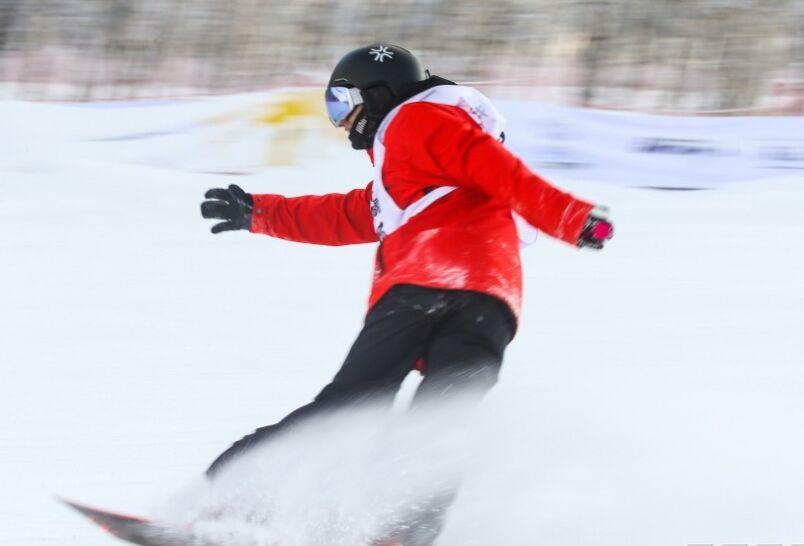 炫酷来了!中国精英滑雪联赛第五站竞争也愈发激烈 图