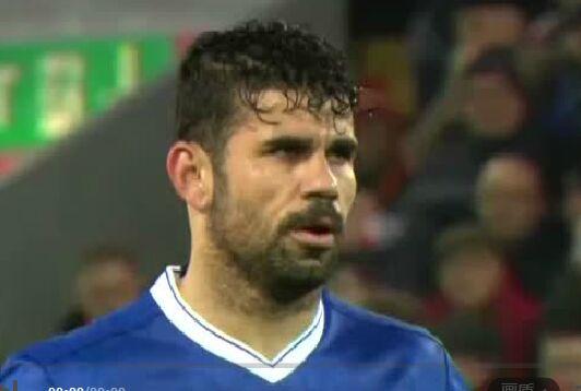 科斯塔的点球,几乎以一己之力让利物浦避免了在主场被对手绝杀的尴尬