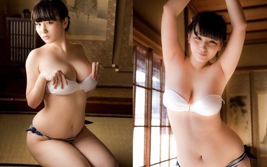 24岁日本女歌手化身猫女郎乳沟深邃诱惑博眼球