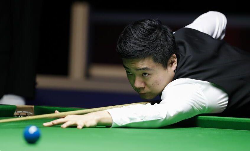 斯诺克威尔士赛:中国选手丁俊晖首轮出局(图)