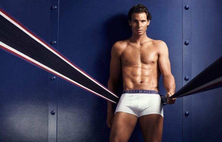 运动员纳达尔最新内裤写真健硕身材显露无疑(图)