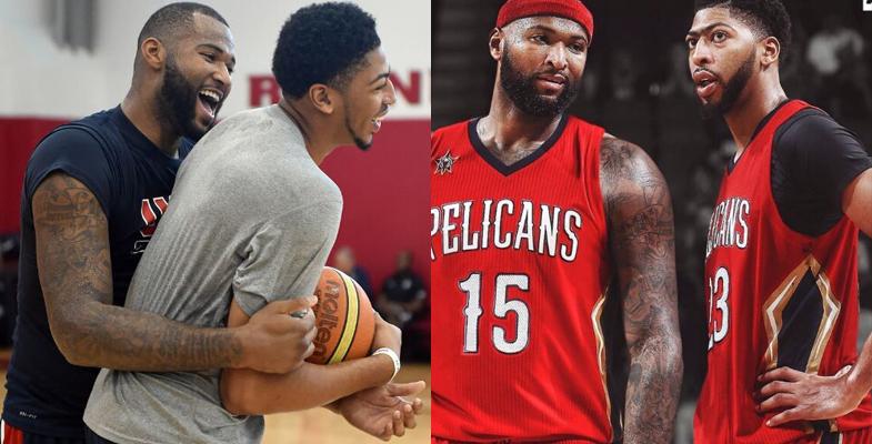 NBA就曝出一个重磅交易!考辛斯联手浓眉哥(图)