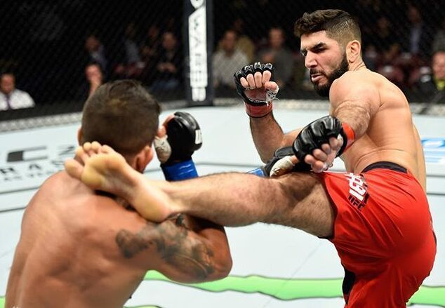 UFC Fight Night 105精彩集锦 德瑞克-刘易斯获胜|图