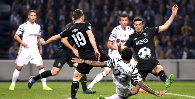 欧洲冠军联赛:尤文图斯客场2比0击败波尔图(图)