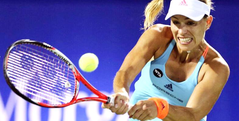 WTA迪拜赛沃兹进决赛:头号种子科贝尔无缘|图