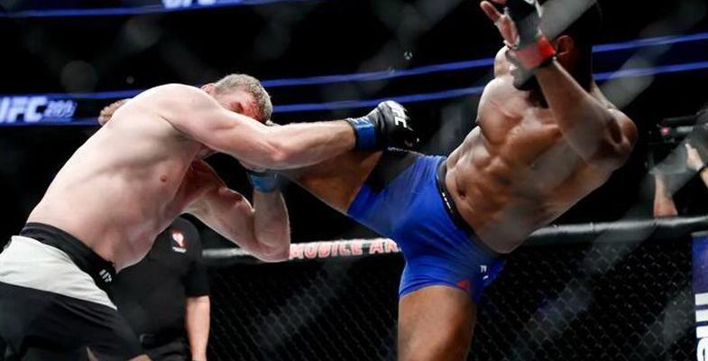 3月5日UFC对抗火光四溅 伍德利刺拳直接汤普森(图)