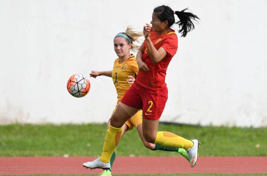阿尔加夫杯:中国女足1-2负于澳大利亚女足(组图)