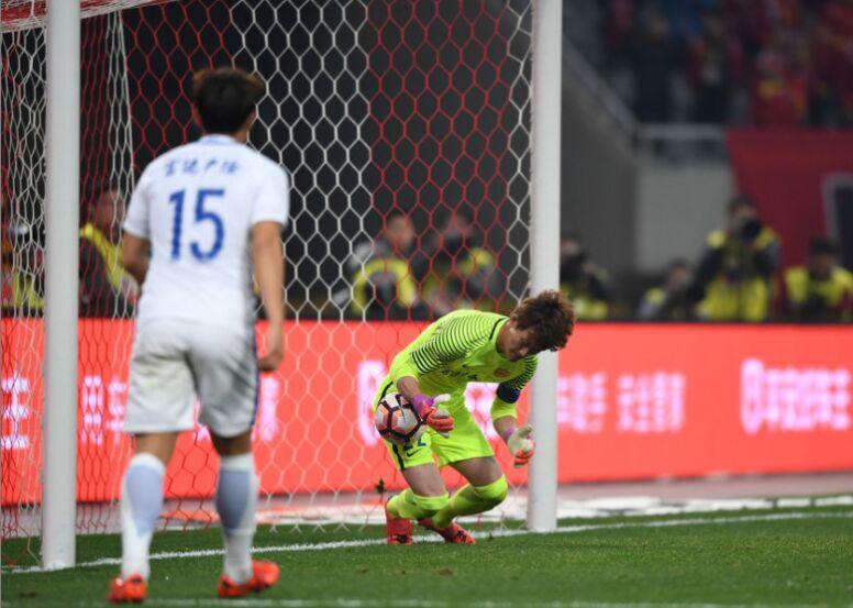 2017年中超第二轮:上海上港2-0延边富德(图)
