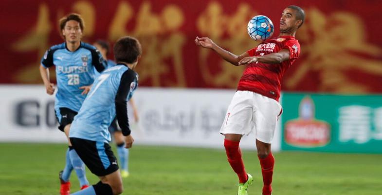 亚冠联赛第三轮:广州恒大战平1-1川崎前锋(组图)