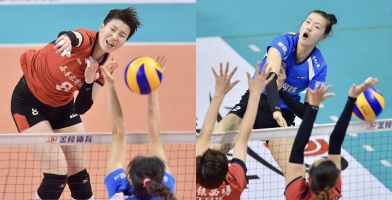 全国女排联赛决赛第三回合精彩瞬间江苏获胜(组图)