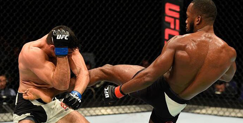 UFC Fight Night 107精彩集锦 吉米-曼努瓦获胜|图