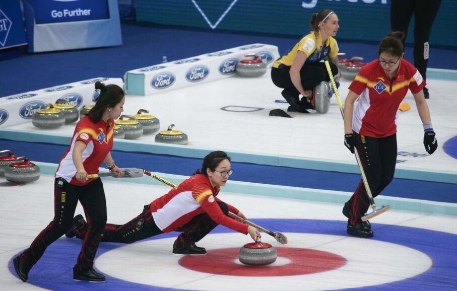 世界女子冰壶锦标赛:中国最终告负意大利(组图)