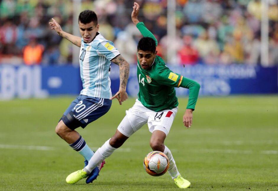 世预赛第14轮:阿根廷客场0比2不敌玻利维亚(图)