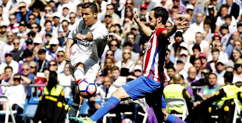 西甲:皇家马德里主场1比1战平马德里竞技(组图)