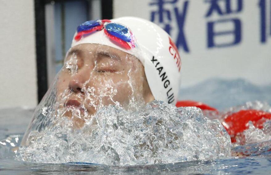 游泳冠军赛第十三届全运会预赛 女神刘湘夺冠(图)