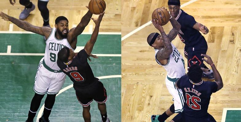 NBA季后赛:凯尔特人继续坐镇主场迎战公牛(组图)