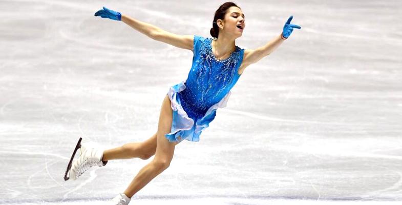 花滑团体赛:李子君第九 中国的李香凝第七(组图)