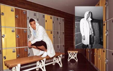 运动员于大宝脱下球衣变型男 时尚大片动作酷(图)
