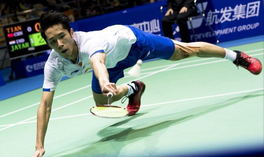 武汉羽毛球亚锦赛:林丹谌龙进次轮 田厚威遭淘汰