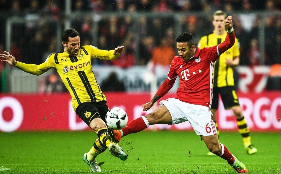 德国杯半决赛:拜仁慕尼黑队2-3多特蒙德队(图)