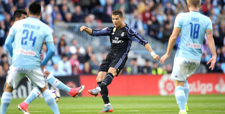 西甲第21轮:皇家马德里客场4比1力克塞尔塔