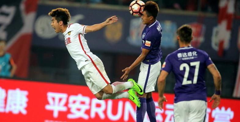 中超联赛:天津权健主场3-0击败天津泰达亿利