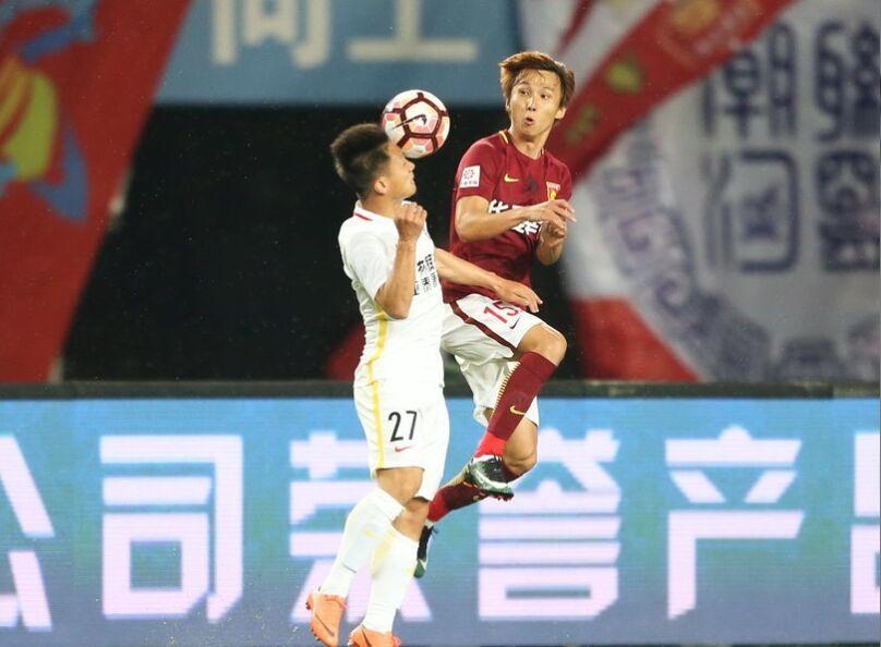 中超联赛第11轮:河北华夏幸福2-1长春亚泰