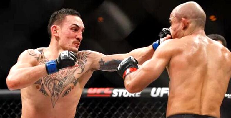 麦克斯-霍洛威第三回合KO对手 获UFC羽量级冠军
