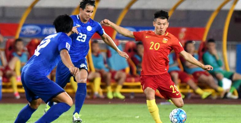 热身赛:中国男足8-1大胜菲律宾(组图)
