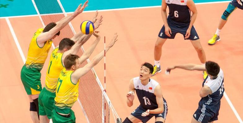 2017年世界男排联赛:中国男排0-3负于澳大利亚队