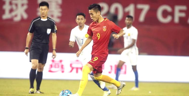 热身赛:U22国青1-0马来西亚(组图)