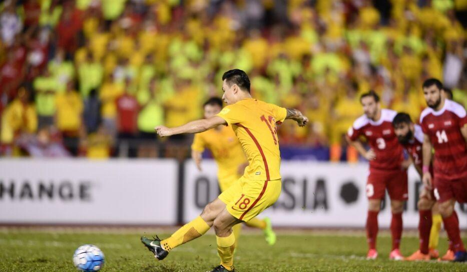 世界杯亚洲区预选赛:中国男足2-2战平叙利亚 (图)