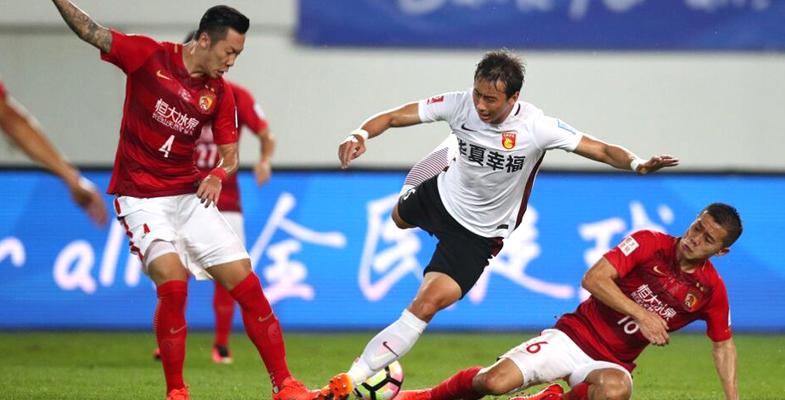中国足协杯赛:广州恒大主场迎战河北华夏幸福(组图)