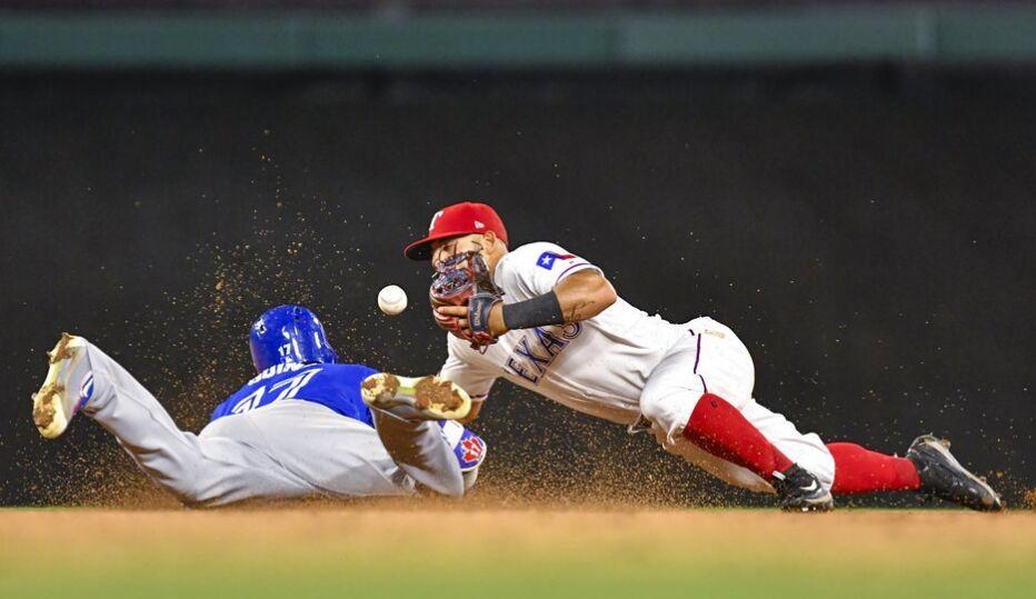 MLB棒球职业大联盟 德州游骑兵负多伦多蓝鸟
