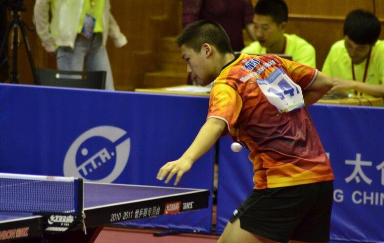 2017年乒乓球青少年巡回赛太仓站赛况(组图)