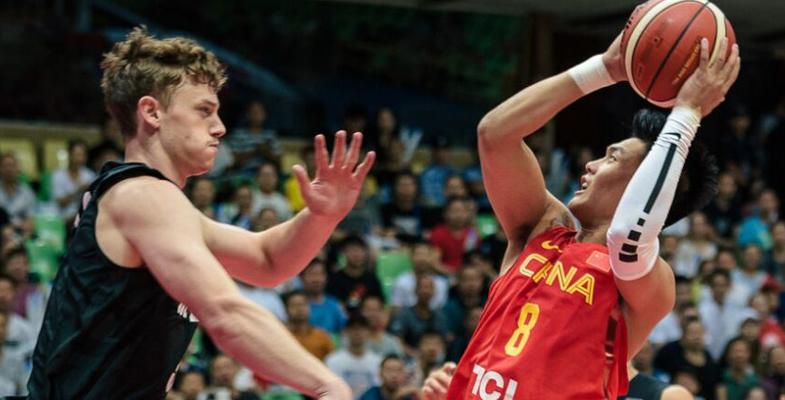 国际男篮锦标赛:中国男篮红队89-62战胜新西兰|图