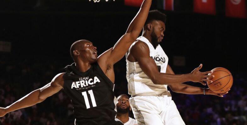 NBA非洲赛:世界队VS非洲队(组图)