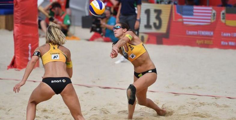 FIVB沙排世锦赛女子组:德国队齐心协力终夺冠军(图)