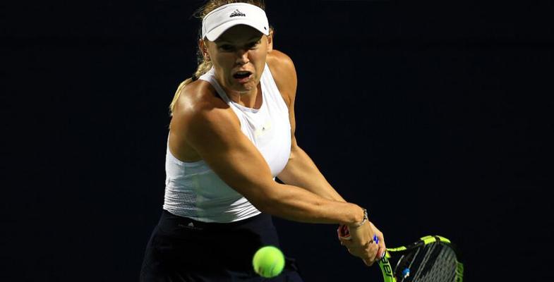 WTA超五系列赛罗杰斯杯 沃兹尼亚奇晋级16强(图)