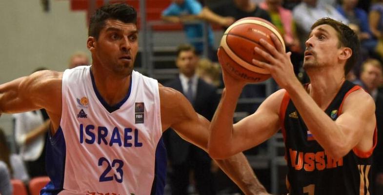 2017国际篮球赛:俄罗斯VS以色列(组图)
