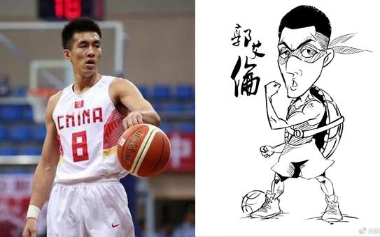 国内著名篮球漫画家:郭艾伦变忍者神龟的可爱模样
