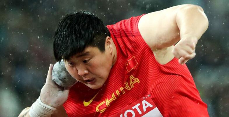 世锦赛女子铅球决赛:中国选手巩立姣获得冠军!
