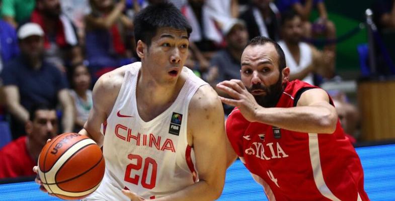 男篮亚洲杯:中国男篮蓝队81-79逆转叙利亚