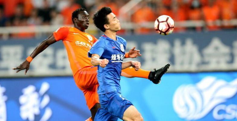 中超联赛:山东鲁能主场5-0击败替补上阵的上海申花