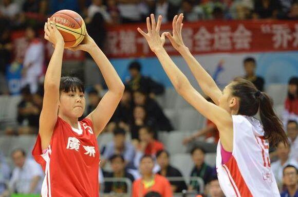第13屆全運會籃球賽:山東隊擊敗廣東衛冕 李月汝15+10 -