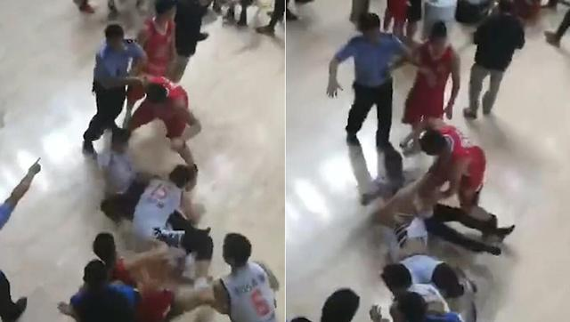 NBL综述-河南广西因群殴比赛中断 陕西夺赛点