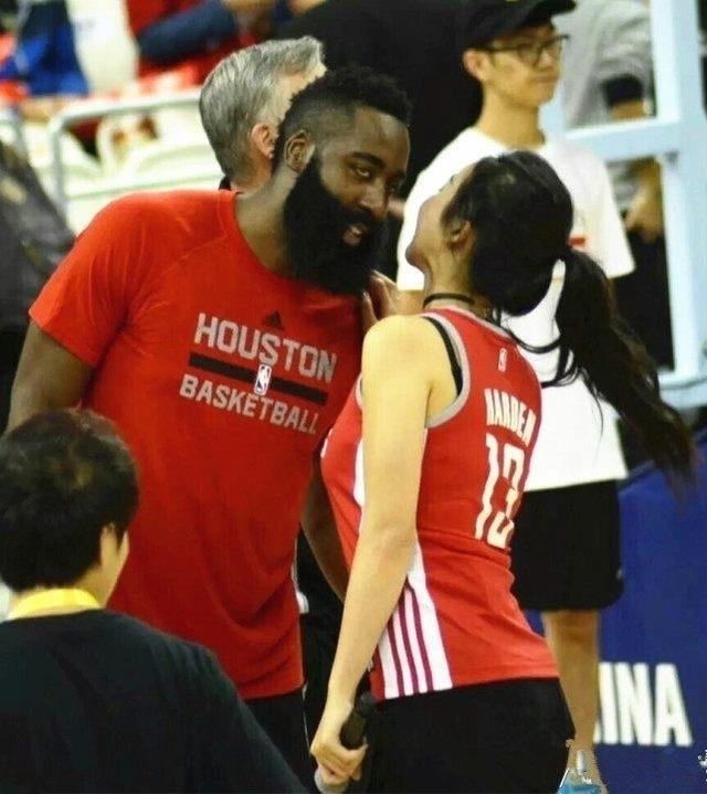 这位NBA女主播让哈登念念不忘