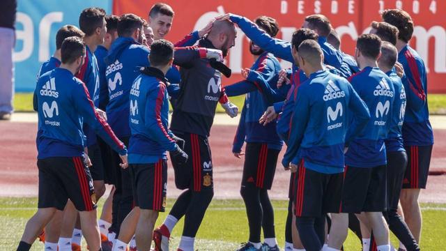 西班牙世界杯大名单 10名球员初次参加国际大赛 -